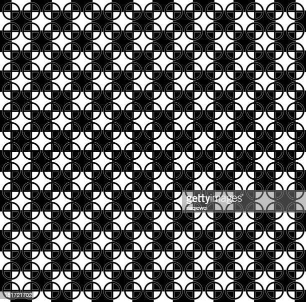 ilustraciones, imágenes clip art, dibujos animados e iconos de stock de abstracto blanco y negro de patrones de fondo - tablero ajedrez
