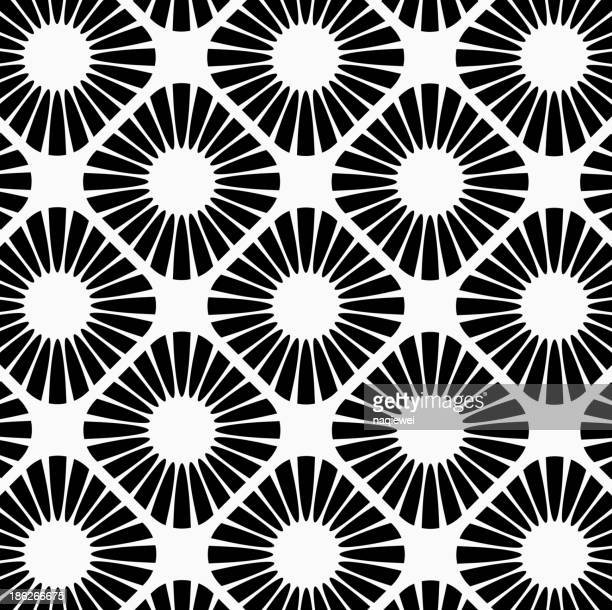 black and white abstract pattern background - printout stock illustrations