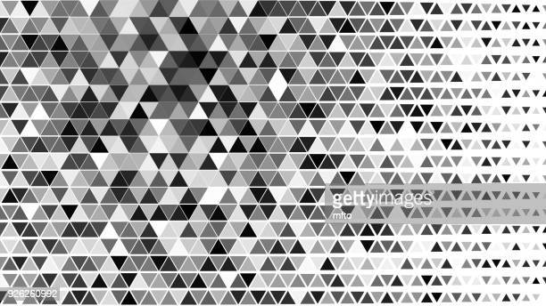 black and white background - triangle shape stock illustrations
