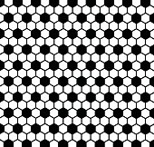 Black and white background with soccer ball texture