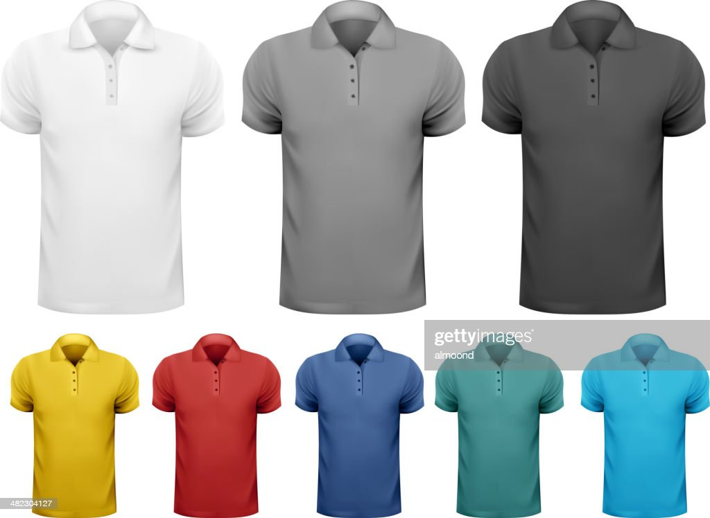 Black and white, color men t-shirts.