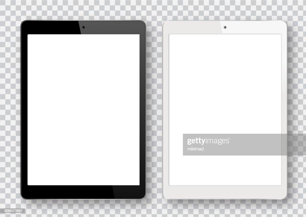 Black and White Digital Tablet