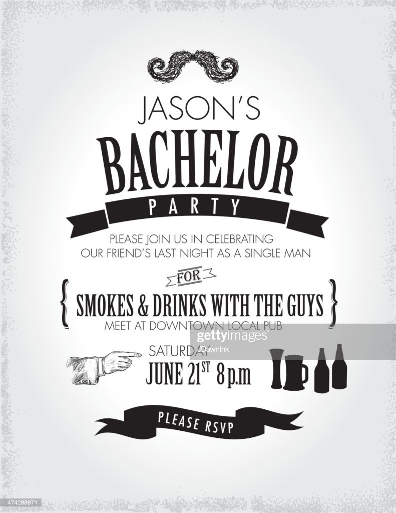 Bachelor Party Invitation Gallery - Party Invitations Ideas