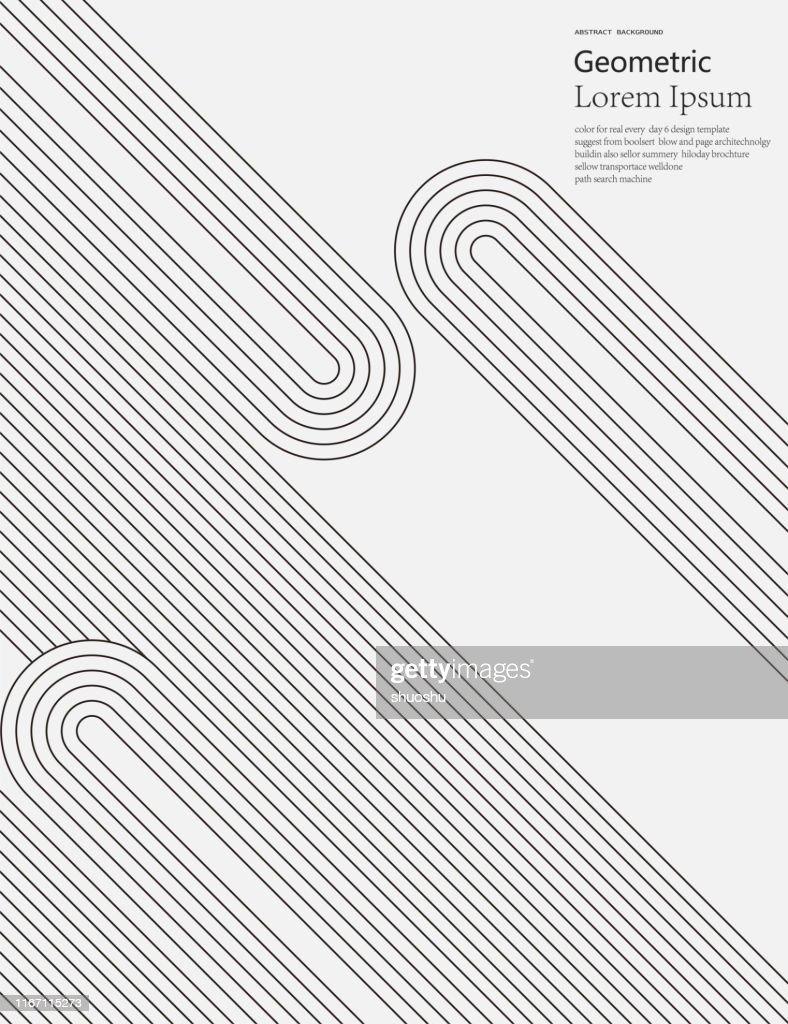 black and white geometric style line pattern background : stock illustration