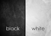 Black and white grunge wall textural background