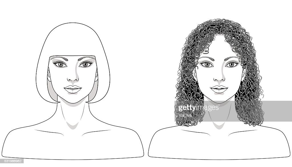 Black and white image of women.