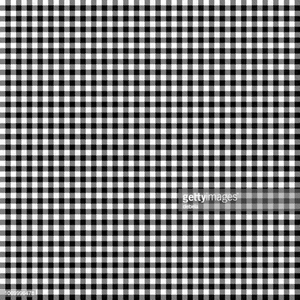 黒と白の木こりの背景パターン - ギンガムチェック点のイラスト素材/クリップアート素材/マンガ素材/アイコン素材