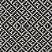 black and white outline pattern of corners