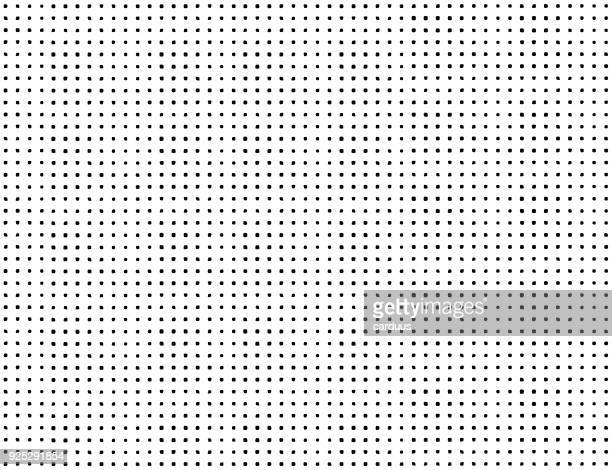 black and white  points  seamless pattern