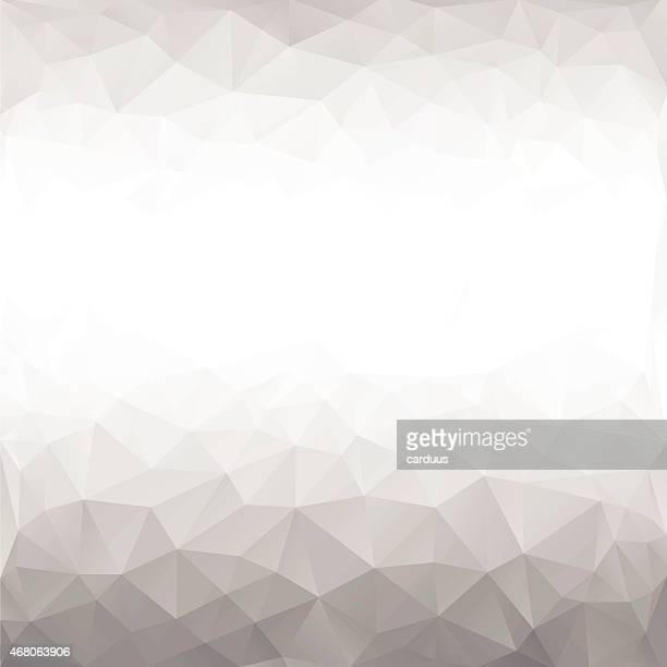 black and white polygonal background