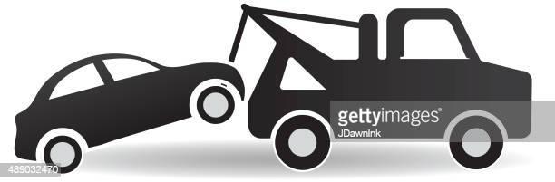 ブラックとホワイトのトウと道路脇のアイコンのデザインをサポート - クラウドソーシング点のイラスト素材/クリップアート素材/マンガ素材/アイコン素材