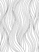Black and white wave pattern