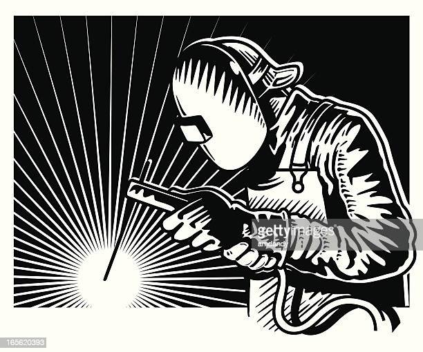 115 Welder High Res Illustrations Getty Images