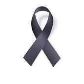 Black awareness ribbon