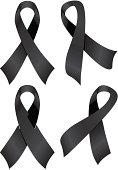 Black Awareness Ribbons