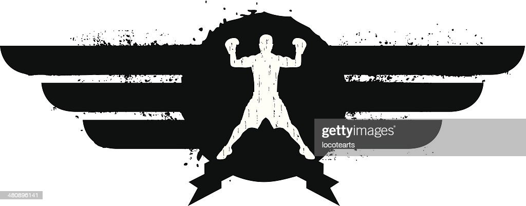 black boxing shield
