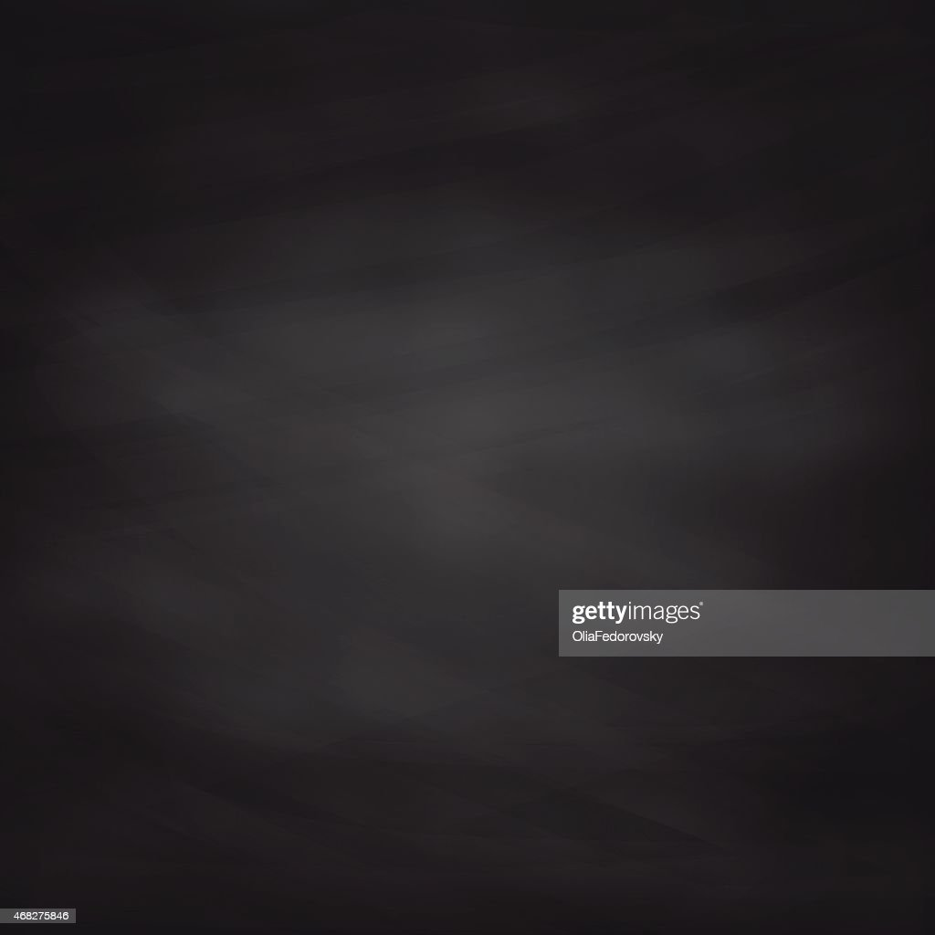 Black Chalkboard Texture. Vector Background.