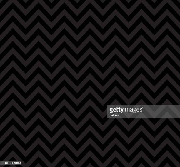 ブラックシェブロンパターン。レトロな幾何学的背景。 - 山形模様点のイラスト素材/クリップアート素材/マンガ素材/アイコン素材