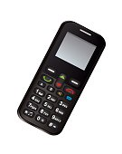Black color cell phone