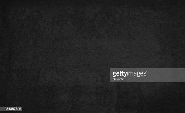black coloured rough texture grunge vector backgrounds like a blackboard - papyrus paper stock illustrations