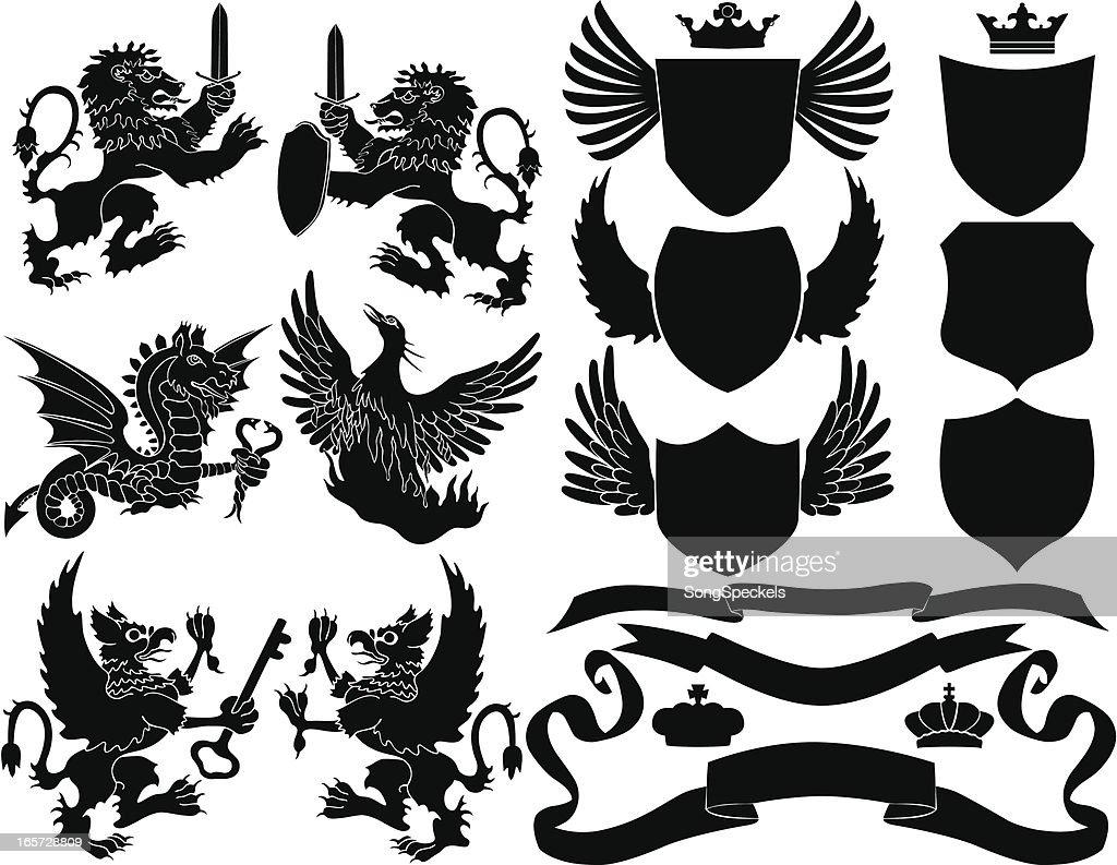 Black Crest Elements