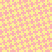black crosses on white background.abstract geometric background. simple vector seamless pattern. pastel colors