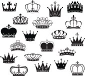 Black Crown Silhouette Collection