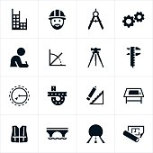 Black Engineering Icons