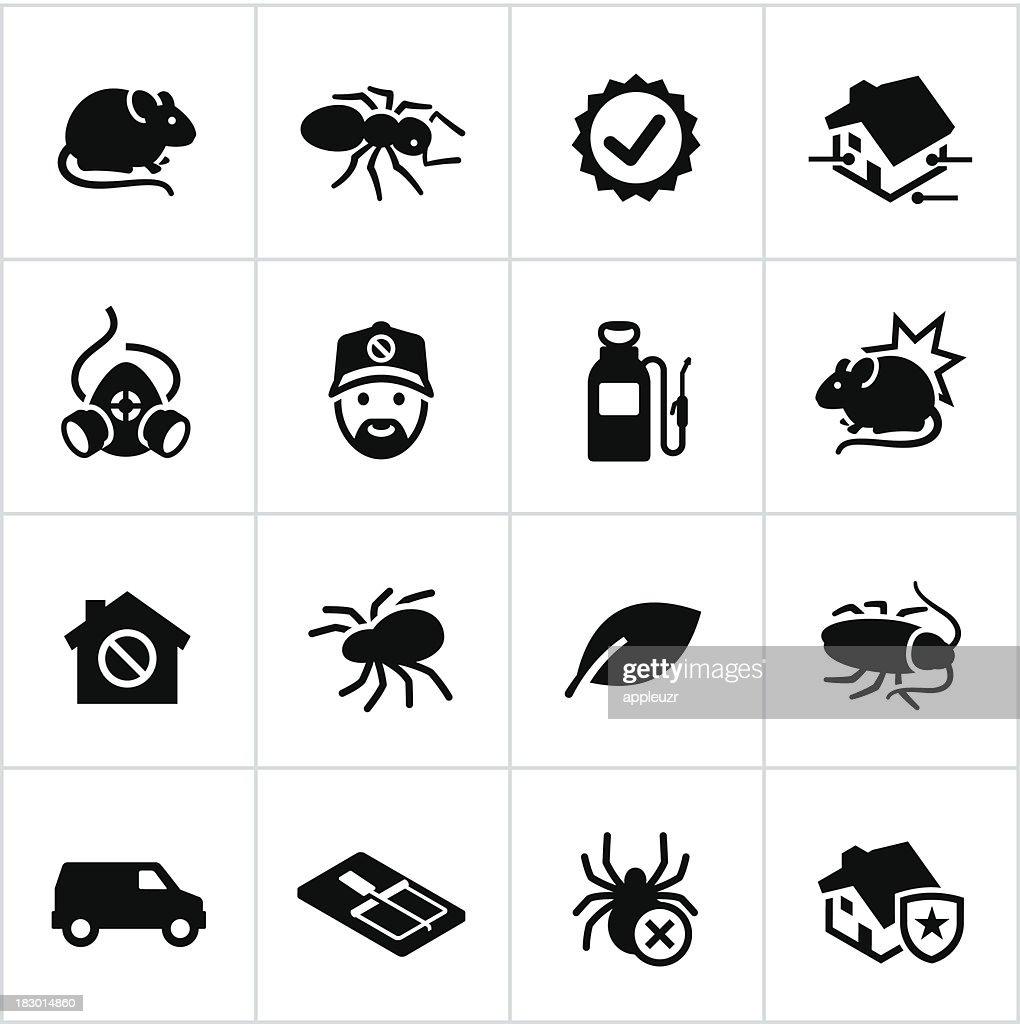 Black Exterminator Icons