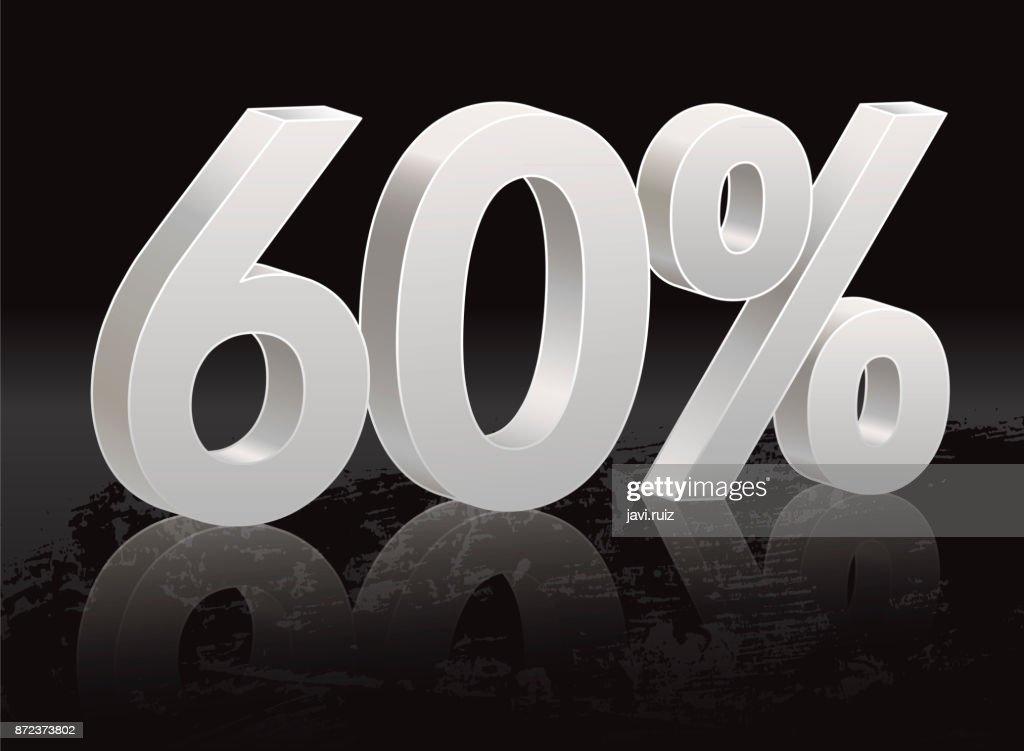 Black Friday, 60 percent discount