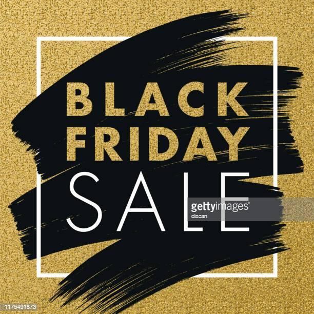 ilustraciones, imágenes clip art, dibujos animados e iconos de stock de black friday diseño para publicidad, banners, folletos y folletos. - black friday
