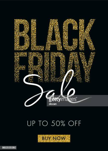 black friday design for advertising banners