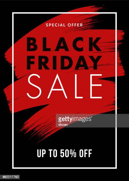 black friday design for advertising, banners, leaflets and flyers. - banner sign stock illustrations