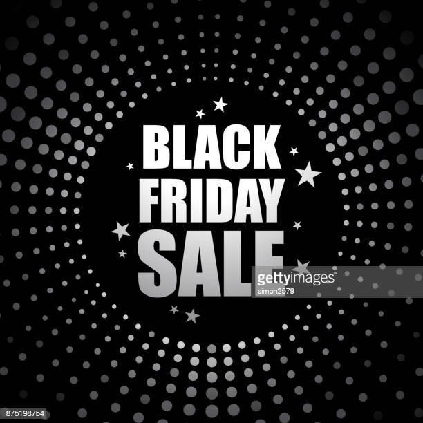 black friday sale banner template design - friday stock illustrations, clip art, cartoons, & icons
