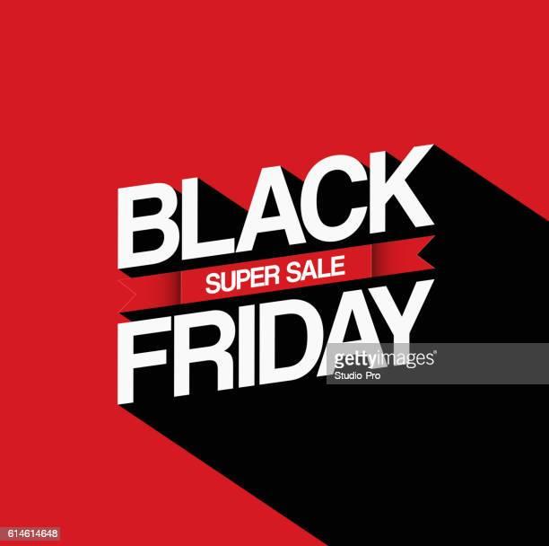 ilustraciones, imágenes clip art, dibujos animados e iconos de stock de black friday sale design template - black friday