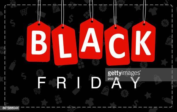 ilustraciones, imágenes clip art, dibujos animados e iconos de stock de el viernes negro venta poster - ilustración de vectores - black friday