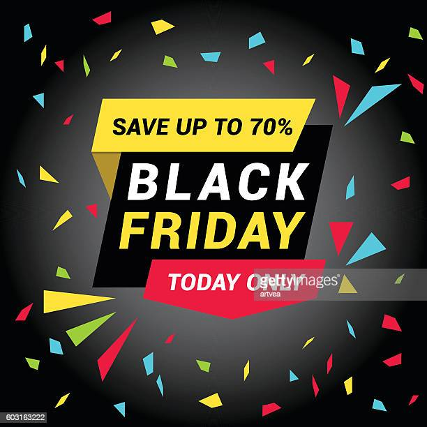 ilustraciones, imágenes clip art, dibujos animados e iconos de stock de etiqueta de venta de viernes negro - black friday