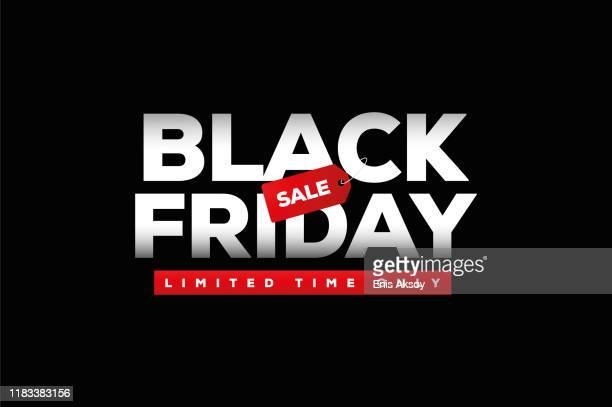 ilustraciones, imágenes clip art, dibujos animados e iconos de stock de venta del viernes negro - black friday