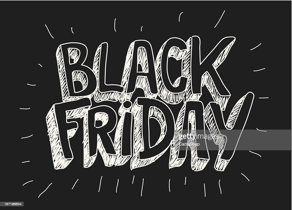 Black friday : stock illustration