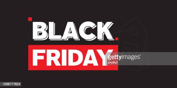 ilustraciones, imágenes clip art, dibujos animados e iconos de stock de diseño de banner web viernes negro - black friday