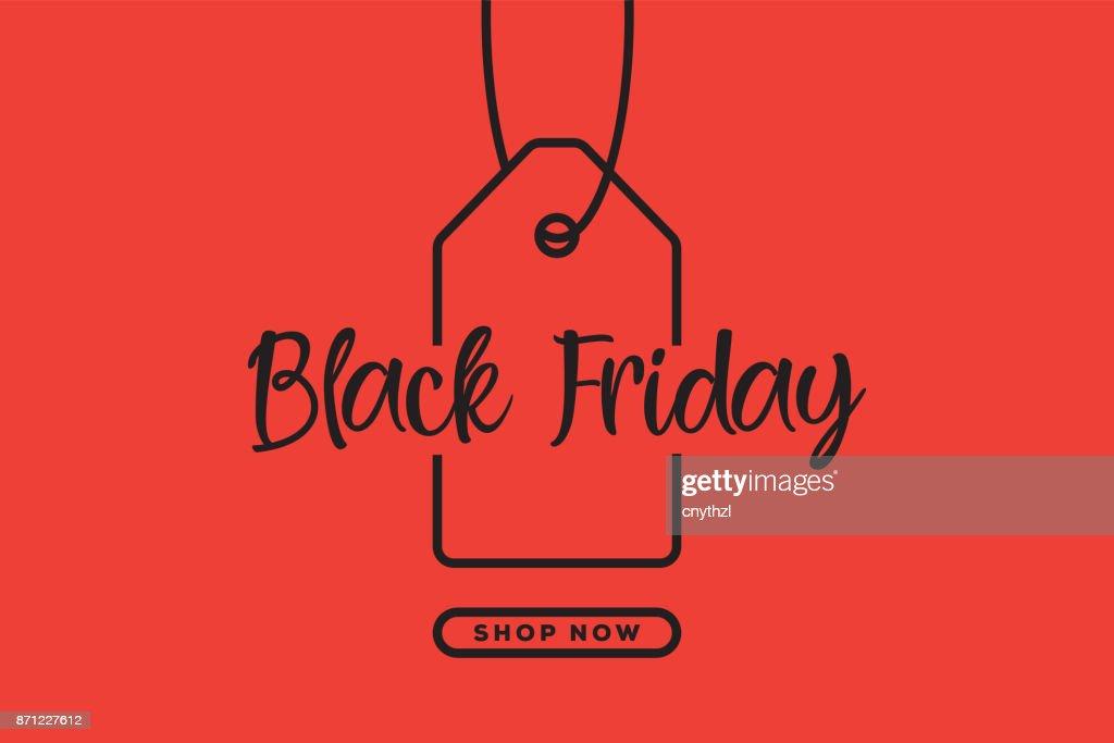 Black Friday Web Banner Design : stock illustration