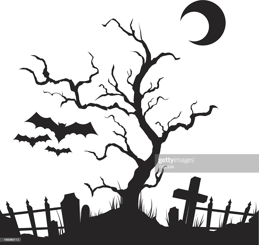Black Halloween Vector Art | Getty Images