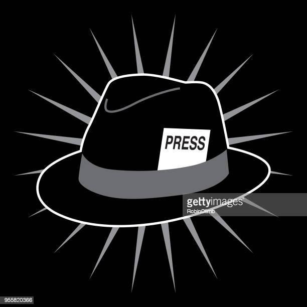 Black Hat PRESS Card Icon
