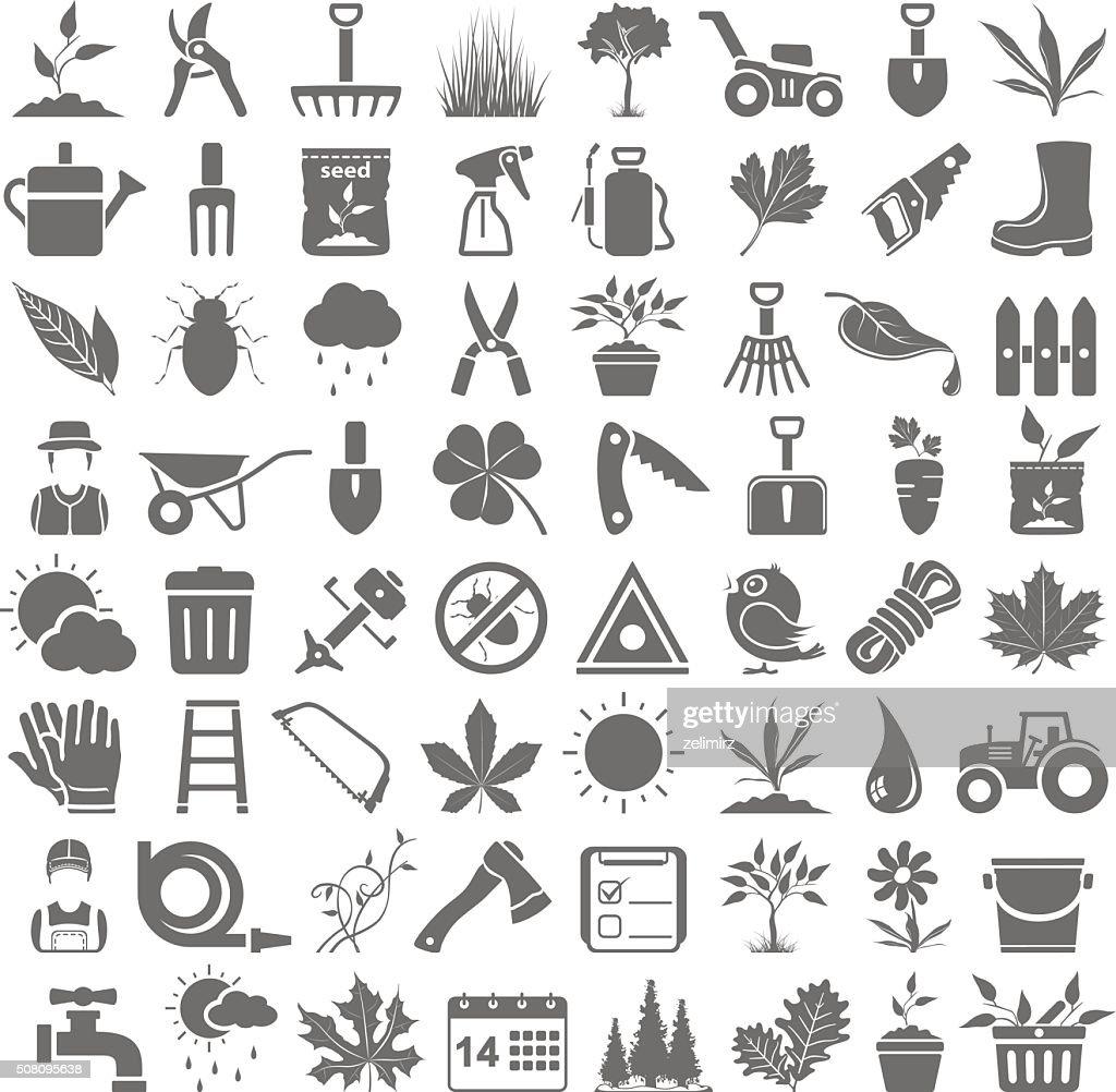 Black Icons - Gardening