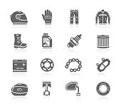 Black Icons - Motorcycle Accessories