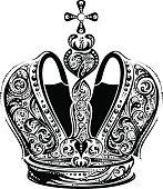 Black imperial crown