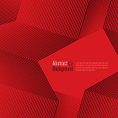 Black lines on red background. Minimal covers design.