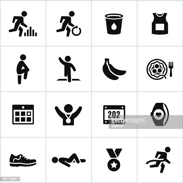 Black Marathon Icons