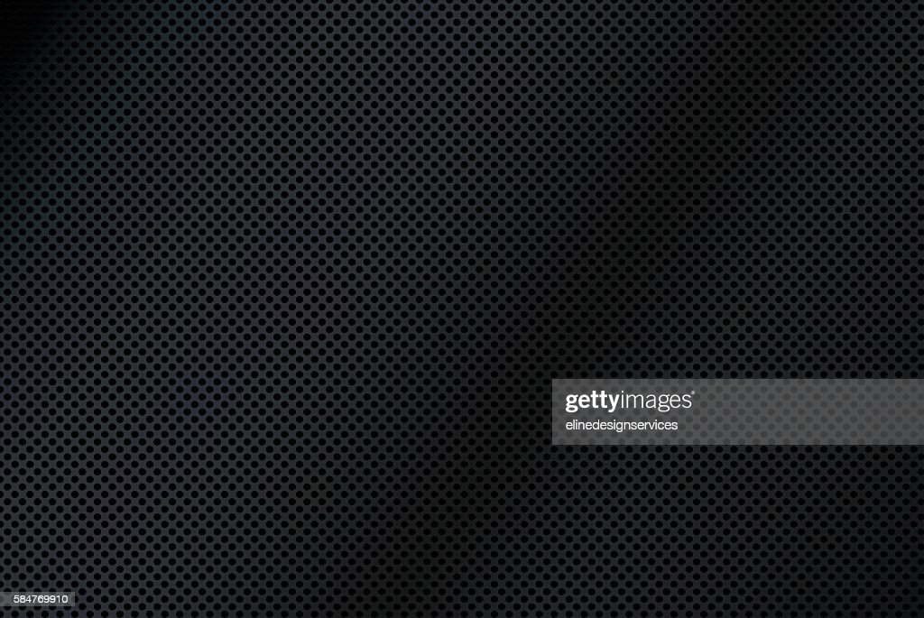 Black Mesh Texture Background Illustration