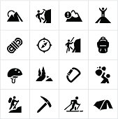 Black Mountaineering Icons